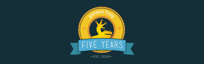 Golden Frog 5 Years